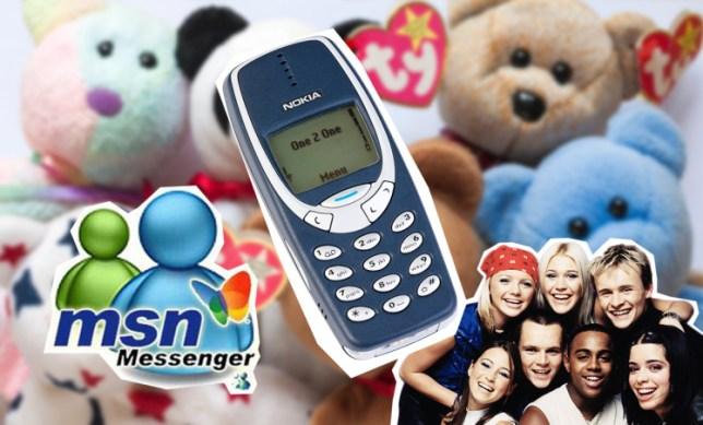 BKKEWJ Nokia 3310 mobile phone now obsolete