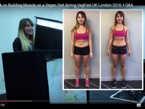 My journey to Miss Bikini Body: My vegan fitness speech at Vegfest London 2016