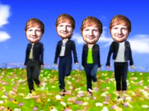 You won't be able to get this Ed Sheeran and B*Witched remix out of your head once you hear it