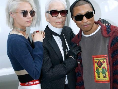 Pharrell Williams is Chanel's first ever male handbag model