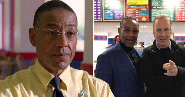 Breaking Bad's Gus Fring showed up at a real life pop-up of Los Pollos Hermanos