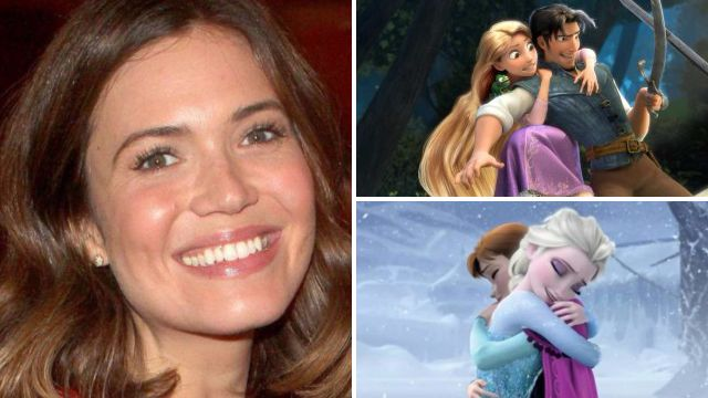 Nope, there's no link between Frozen and Tangled according to Rapunzel actress Mandy Moore