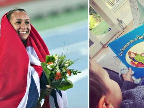 Olympian Dame Jessica Ennis-Hill announces second pregnancy with adorable photo