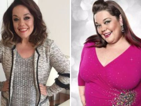 Lisa Riley shares inspiring weight loss picture: 'I don't recognise the person in the other photo'