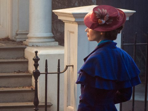 Emily Blunt is looking every inch the nanny in this first look at Mary Poppins Returns