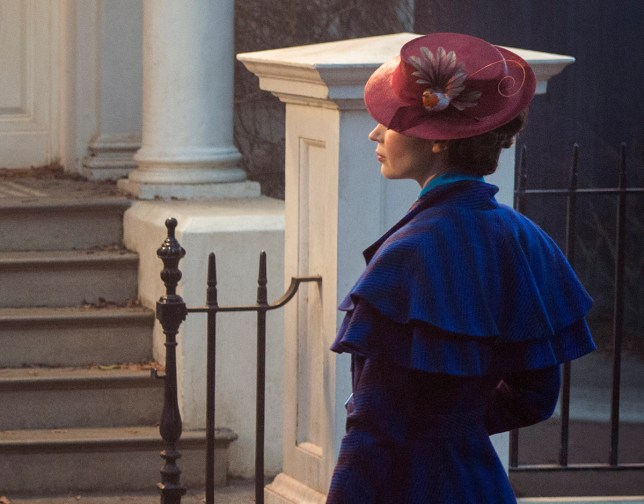 (Picture: Disney) Mary Poppins (Emily Blunt) returns to the Banks home after many years and uses her magical skills to help the now grown up Michael and Jane rediscover the joy and wonder missing in their lives in MARY POPPINS RETURNS, directed by Rob Marshall.