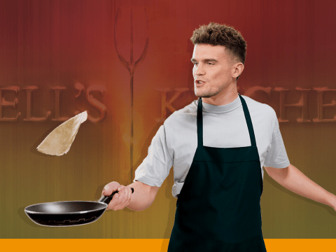 Gaz Beadle to heat things up in new season of Hell's Kitchen Australia
