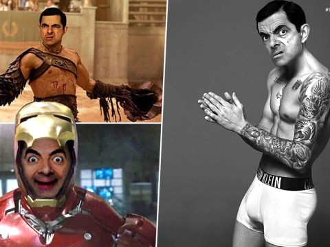 Mr Bean photoshopped into David Beckham's pants and Iron Man is as disturbing as you'd imagine