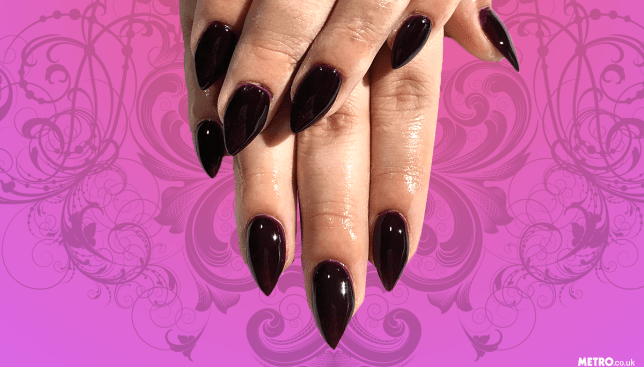 Vampire Nails Are The Hot New Trend So We Can Forget About Unicorns