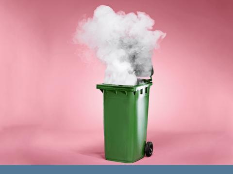 Children are 'getting high by sniffing burning wheelie bins'