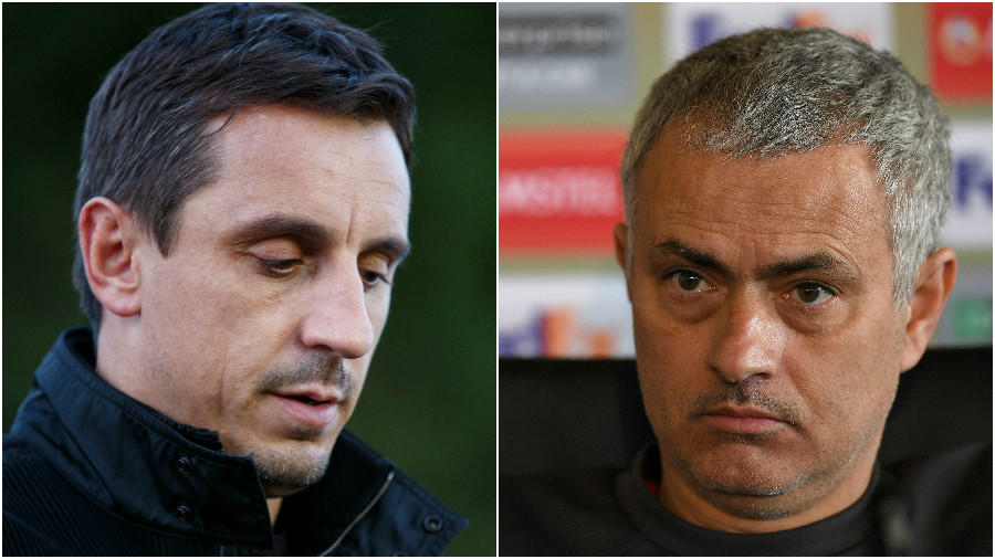 Gary Neville urges Jose Mourinho to offer Manchester United striker Zlatan Ibrahimovic two-year deal