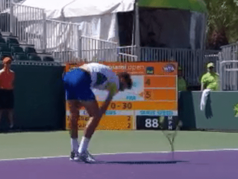 Benoit Paire loses the plot and smashes multiple racquets during Miami Open win over Martin Klizan