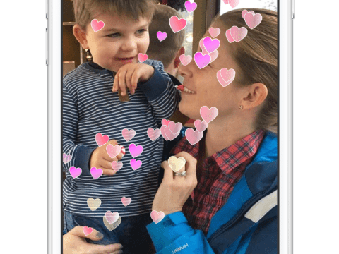 If you forgot about Mother's Day, send her some art on Messenger instead