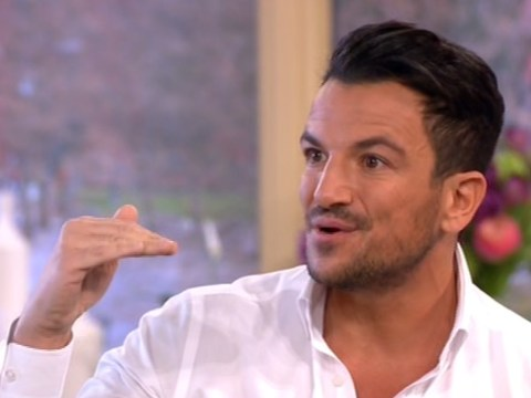 Peter Andre suggests medication for anxiety is 'wiping the problem under the carpet'