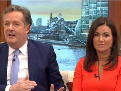 Piers Morgan was too busy grilling Mel C on women's rights to let Susanna Reid speak on Good Morning Britain