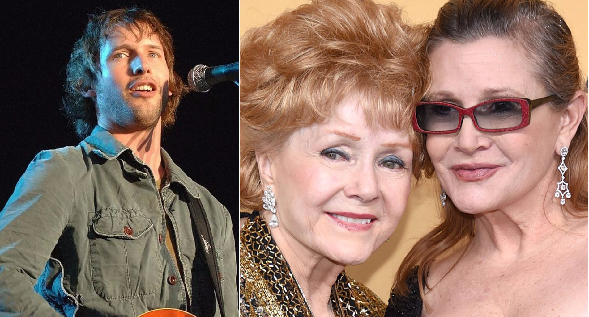 James Blunt has written a song for Carrie Fisher and Debbie Reynolds' memorial service