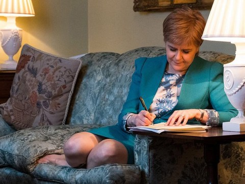 Scottish Government formally request a second independence referendum