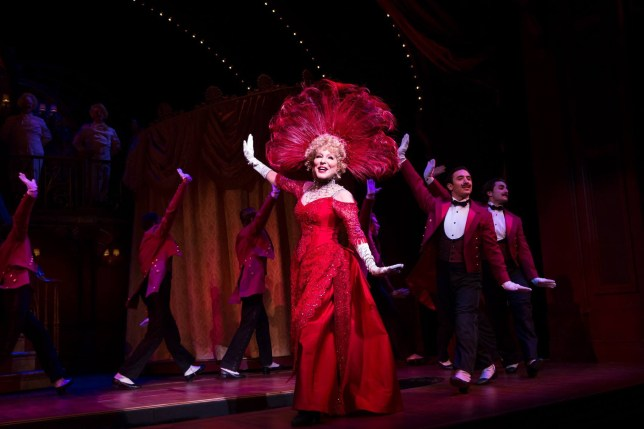 A Bette Midler fan collapsed during a preview of Hello Dolly! but didn't want to miss his idol (Picture: Bette Midler/Hello, Dolly on Broadway)