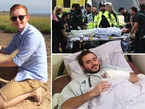 How London Terror attack survivors got away from attacker Khalid Masood
