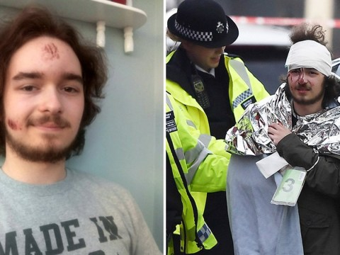 London attack survivor speaks of the moment he thought his friends were killed