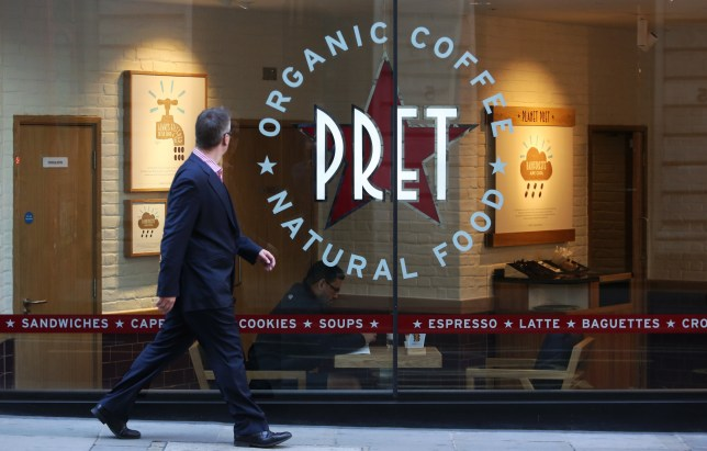 Pret a Manger backtracks on plans 'to pay interns with
