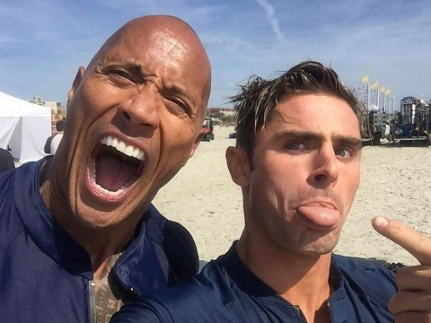 Baywatch teaser shows Zac Efron being pranked with a dead man's penis