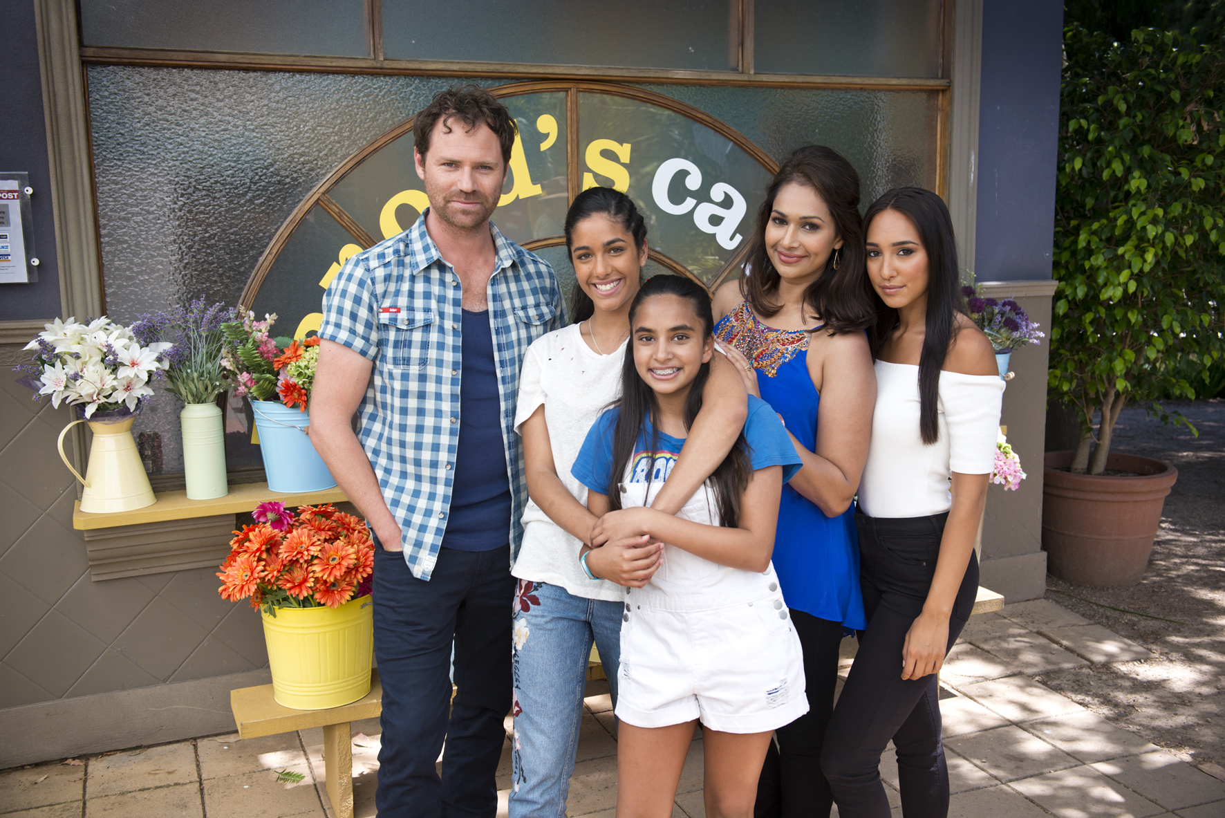 There's a new family arriving in Neighbours as the Rebecchis get some new additions