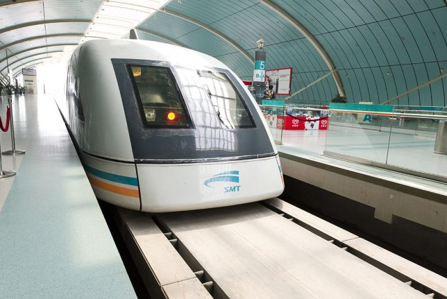 The Maglev could be on it's way to the North (Picture: Alex Segre/REX/Shutterstock)