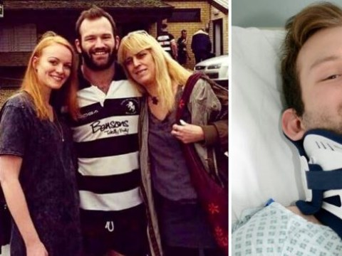 Rugby player returns to game after being told he'd never walk again