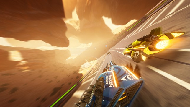FAST RMX (NS) - the Switch's best graphics