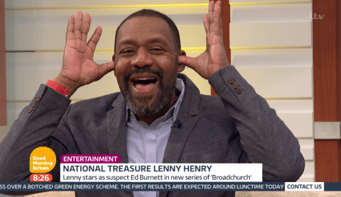 Sir Lenny Henry reveals who knows the Broadchurch plot and it is not who you might think
