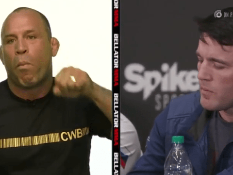Wanderlei Silva tells Chael Sonnen to 'suck his balls' at Bellator 180 press conference