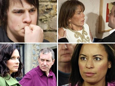 As danger lurks for Peter in Corrie and Leela in Hollyoaks, 15 stalkers who terrified the soaps