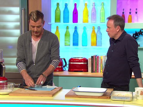 Sunday Brunch viewers left seriously unsettled by what was going on in the background