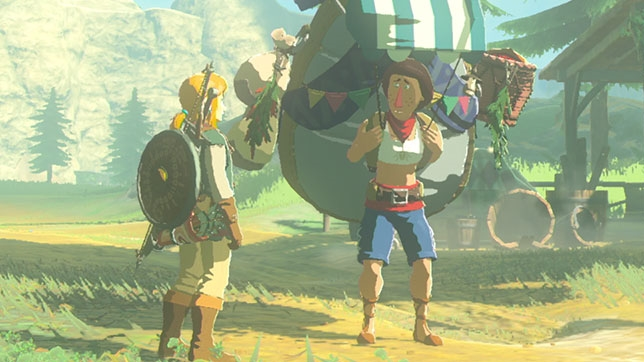Zelda: Breath Of The Wild - this guy likes bugs, but nobody else does