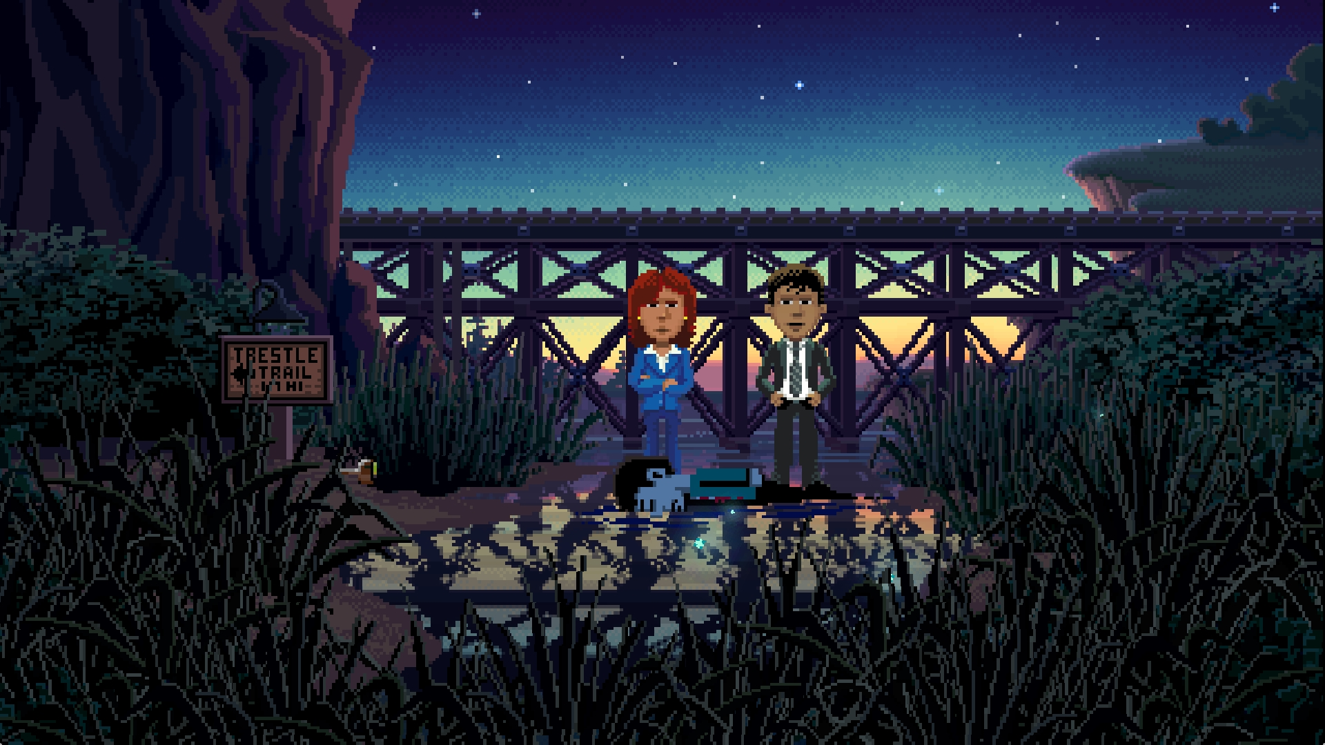 Thimbleweed Park review – the secret of point 'n' click adventures