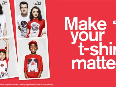 Rankin, TK Maxx and Comic Relief team up for Red Nose Day T-shirt campaign