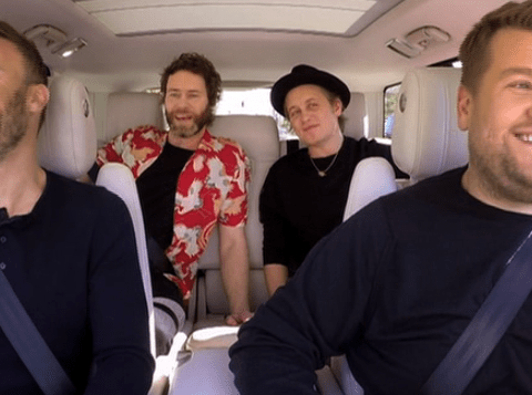 Who's next to leave? James Corden jokes as Take That join him for Comic Relief Carpool Karaoke