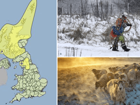 More snow on its way as Arctic blast blankets parts of UK