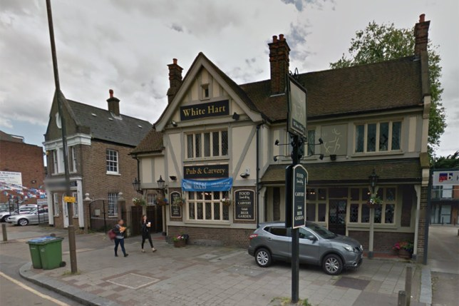 White Hart pub in Eltham (Picture: Google)
