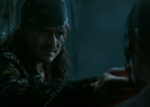 New Pirates Of The Caribbean trailer gives us first glimpse of a scary looking Will Turner