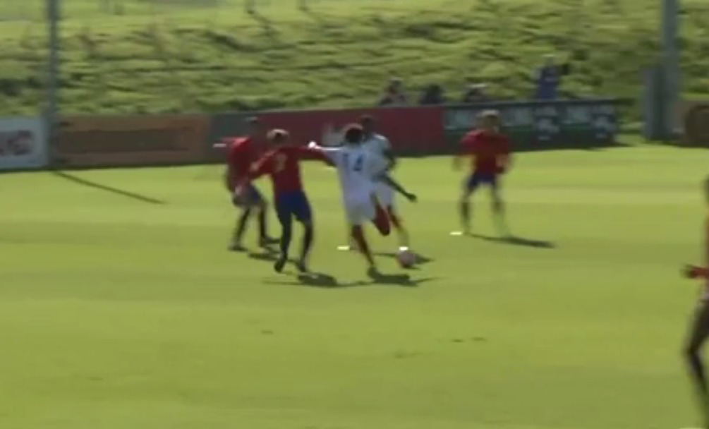 Arsenal starlet Chris Willock sends message to Arsene Wenger with England U19 wondergoal against Spain
