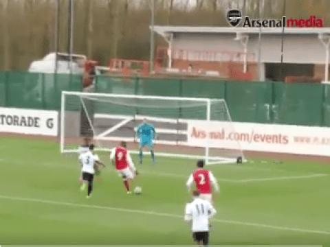 Video: Arsenal's Yaya Sanogo scores for Under-23s vs Tottenham