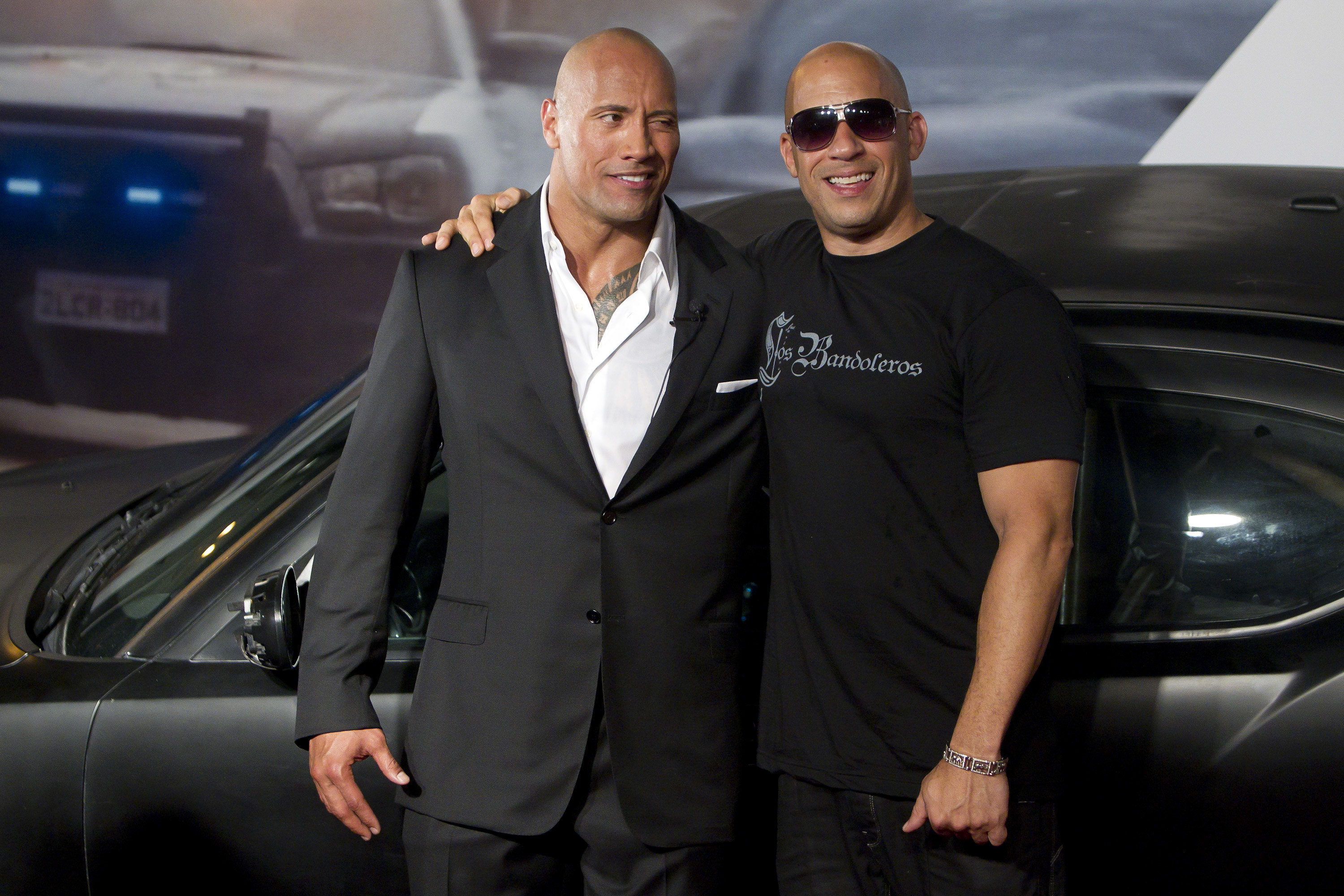Dwayne Johnson and Vin Diesel (Picture: Getty Images)