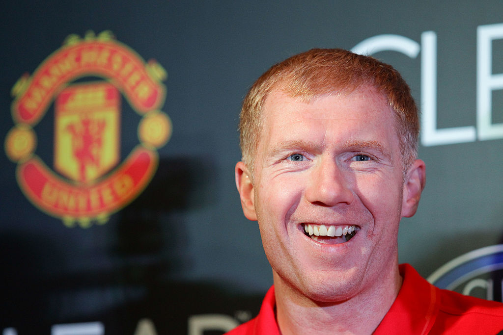 Paul Scholes used to kick Paul Pogba at Manchester United training to toughen him up