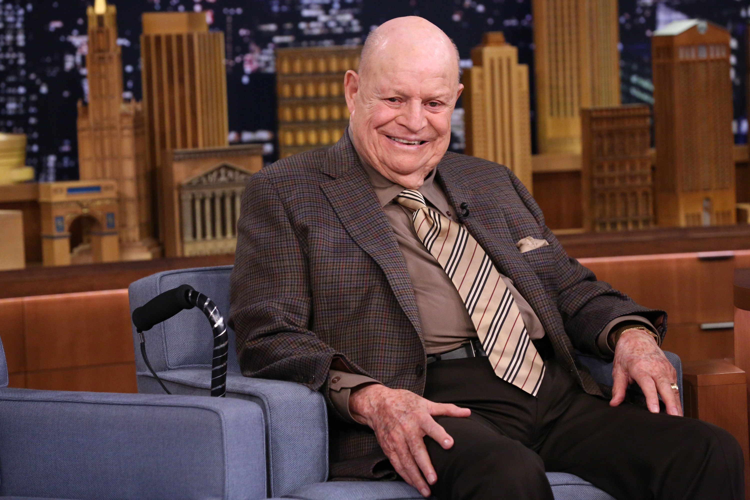 Don Rickles didn't record the voice of Mr Potato Head for Toy Story 4 before he died