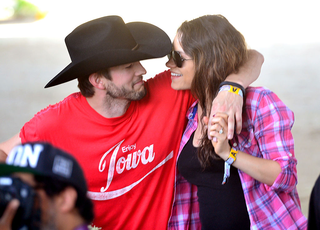 Mila Kunis and Ashton Kutcher give unprecedented look at family life as they surprise her parents on home makeover show