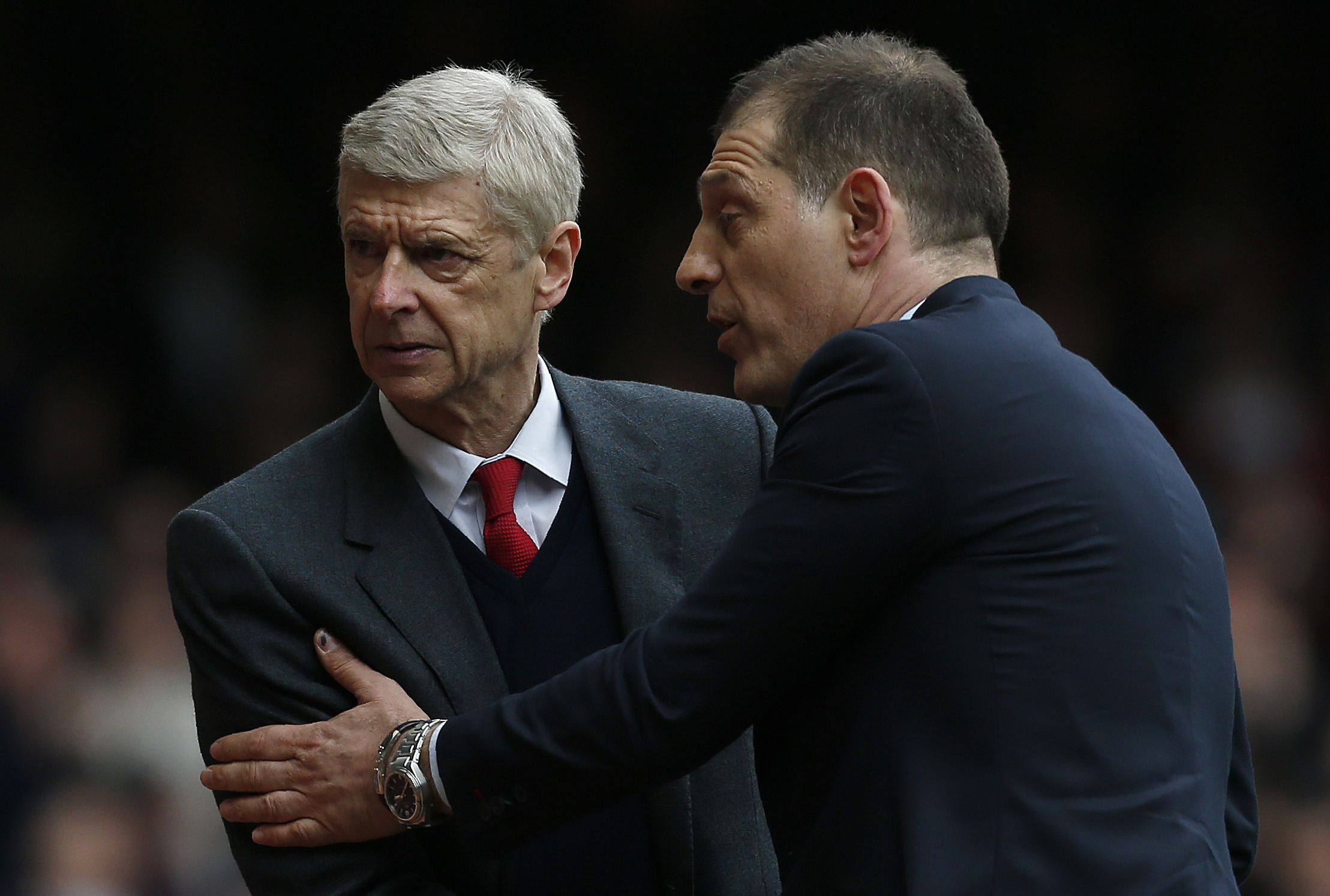 Arsenal are vulnerable without the ball, says West Ham boss Slaven Bilic