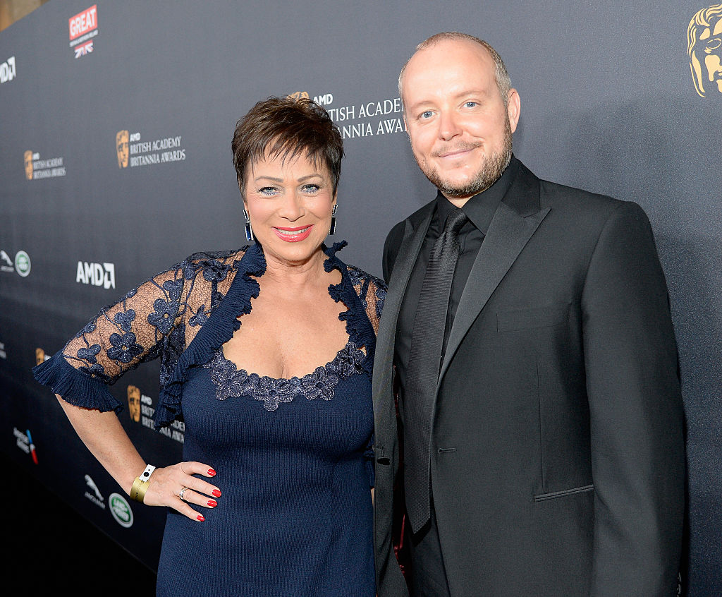 Denise Welch says husband Lincoln Townley is her 'greatest supporter' as she opens up about her mental health issues