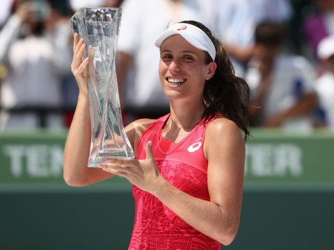 Johanna Konta to lead unchanged Great Britain into Fed Cup trip to Romania